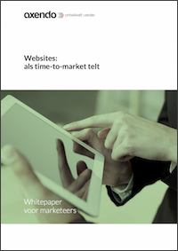 Websites: als time-to-market telt